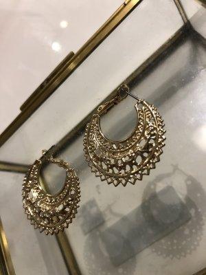 H&M Boucles d'oreille en or doré