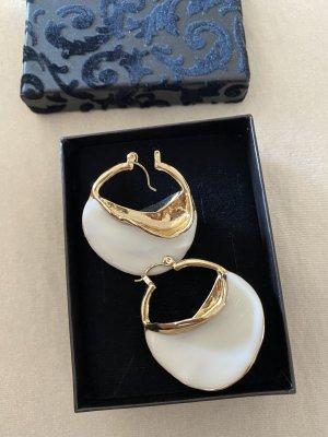 H&M Pendientes de oro blanco