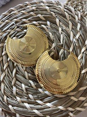 Zara Pendientes de oro color oro