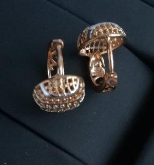 Ohrringe. 18k Gold/Vergoldet/Bijgoutterie. Neu