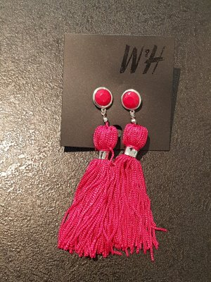 H&M Statement Earrings violet