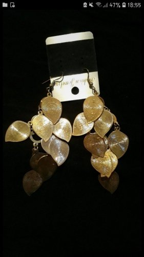 keine Gold Earring gold-colored