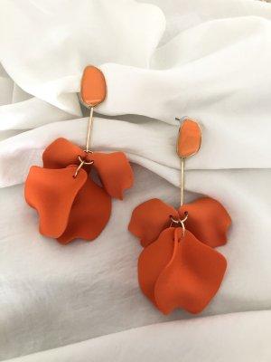Kolczyk ze sztyftem pomarańczowy neonowy-pomarańczowy