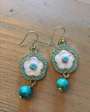 Silver Earrings turquoise