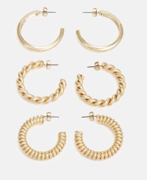 Pieces Boucles d'oreille en or bronze