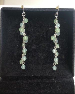 Accessoires Pendientes colgante turquesa-color plata
