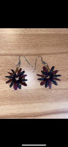 Statement Earrings dark blue-purple