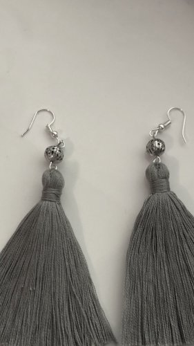 Pearl Earring silver-colored