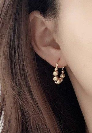 925er Silber Boucles d'oreille en or doré