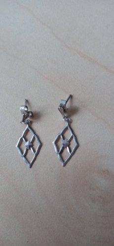 Ohne Boucles d'oreilles en argent argenté métal