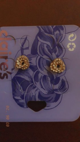Claires Earclip gold-colored