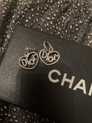 Dior Dangle silver-colored