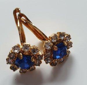 Dangle blue-gold-colored
