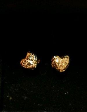 Ohrringe aus 750er Gelbgold