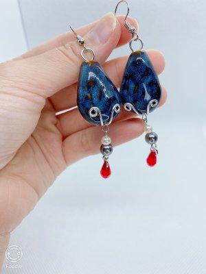 Ohrringe aus Keramikstein