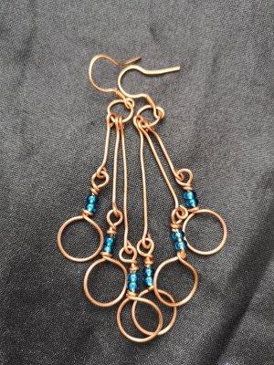 Ohrringe aus Kupfer