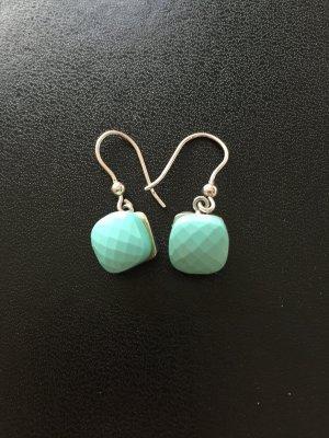 Ohrringe aus Sterlingsilber mit Swarovski Stein