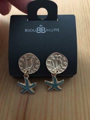 Bijou Brigitte Dangle baby blue-bronze-colored