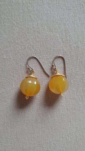 Pareloorbellen goud-goud Oranje