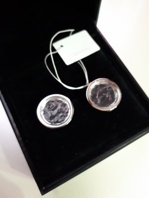 Calvin Klein Srebrne kolczyki srebrny