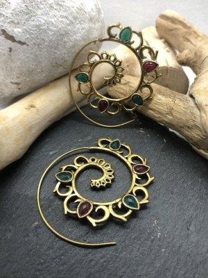 Handmade Ear Hoops multicolored