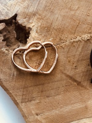 Ear Hoops rose-gold-coloured