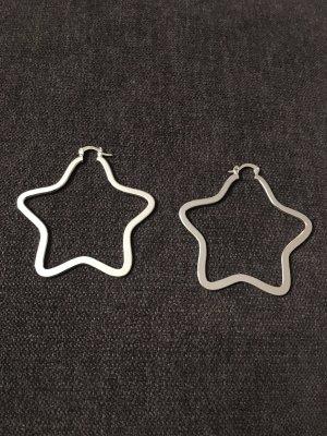 Ohrringe Creolen Sterne