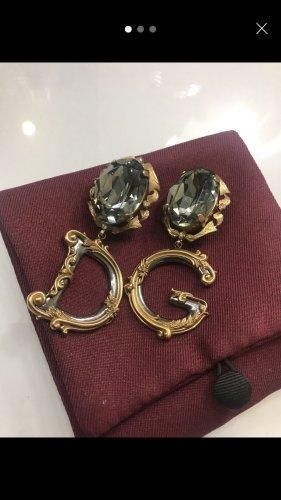 Dolce & Gabbana Clip d'oreille gris vert