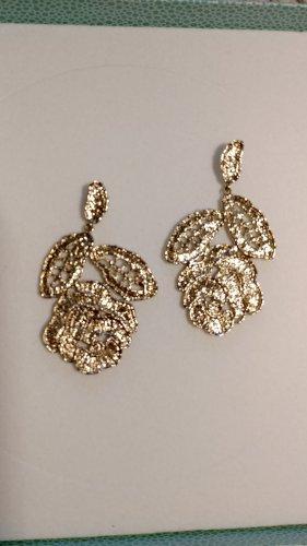 Pierre Lang Pendientes de oro color oro