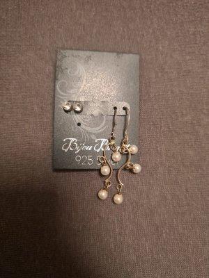 Ohrringe echt silber mit Perlen