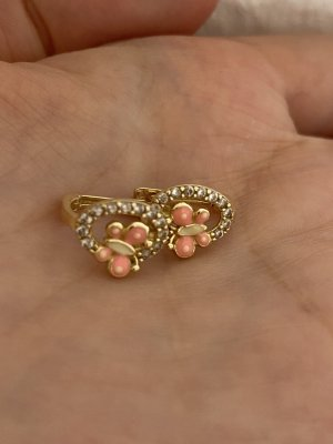 14 Karat Gold Gold Earring multicolored