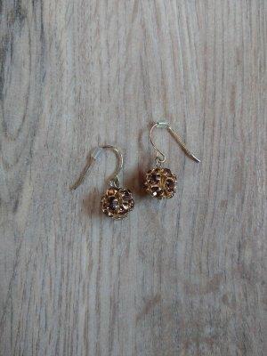 Bungeloorbellen goud-bruin