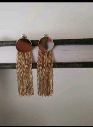 Accessorize Pendientes colgante color oro