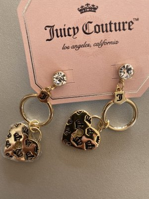 Ohrringe Gold Herz Juicy Couture