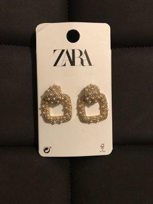 Ohrringe gold mit Perlen