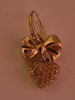 Guess Gold Earring sand brown