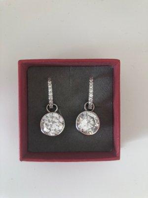 Ohrringe in Silber mit Glitzersteinen CHRIST