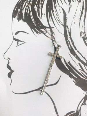 Ohrringe Kreuz