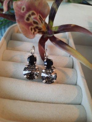 Ohrringe mit echten Swarovski Steinen