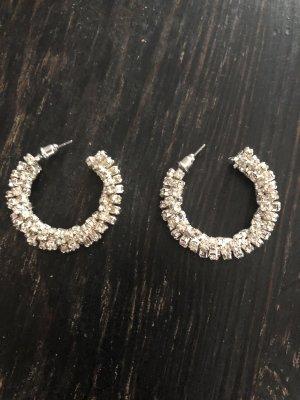 H&M Orecchino a cerchio argento
