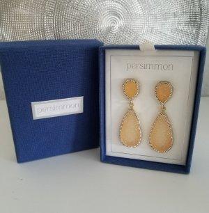 Persimmon Gouden oorbellen veelkleurig