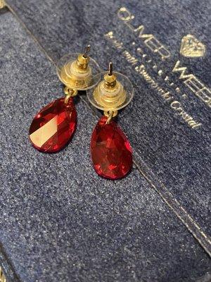 Ohrringe mit Swarovski Steinen