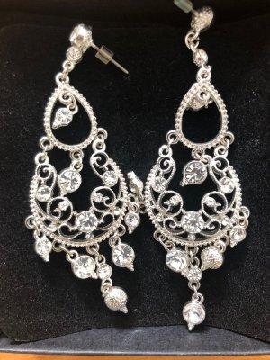 Ohrringe mit Zirkonia Modeschmuck