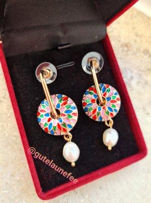 Boutique Boucles d'oreilles en perles multicolore