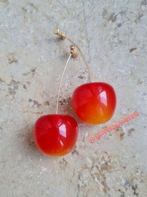 """Ohrringe Ohrhänger """"rote Kirschen"""""""