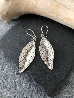 Handmade Boucles d'oreilles en argent argenté