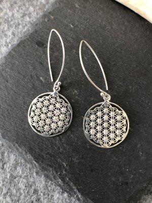 ohne Marke Orecchino d'argento argento