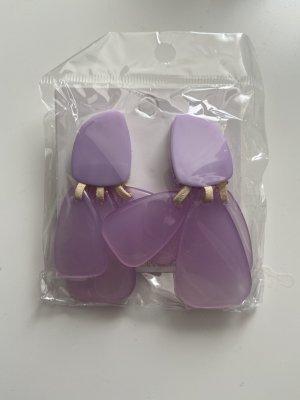 Accessoires Clou d'oreille violet-lilas