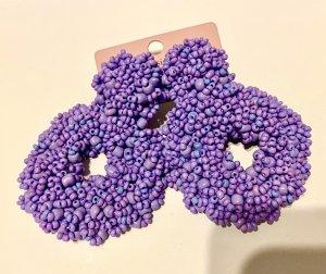 Accessoires Kolczyk ze sztyftem jasny fiolet