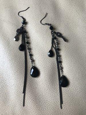 Accessoires Pendientes colgante negro